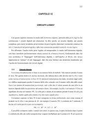 CAPITOLO 12 CIRCUITI LOGICI - dieet