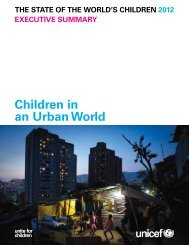 children-in-an-urban-world-unicef-2012 - The Campaign for Real ...