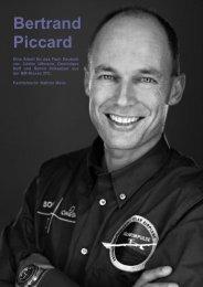 Bertrand Piccard - zurück zum BZT Extranet