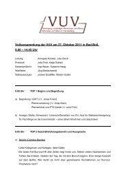 27.10.2011 Protokoll der Vollversammlung (pdf) - VUV