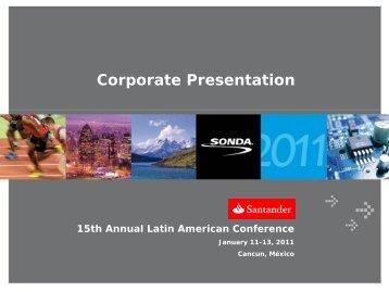 IT Industry in Latin America - Sonda