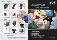 Retail TFT LCD Display Series POS Solution - Taiwan Video System