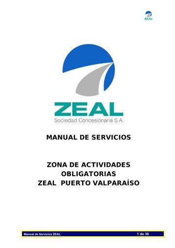 """Manual de Servicios """"ZEAL"""" - Pollmann"""