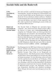 Stüürbord Ausgabe 2005-03 - Seeclub Stäfa