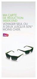 ma carte de réduction week-end. voyager seul ou à - SNCF.com