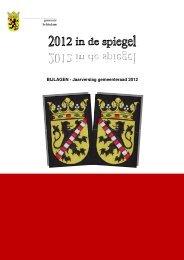 BIJLAGEN - Jaarverslag gemeenteraad 2012 - Gemeente Schiedam