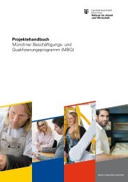 Projektehandbuch - Referat für Arbeit und Wirtschaft