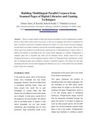 Building Multilingual Parallel Corpora from Scanned Pages of ...