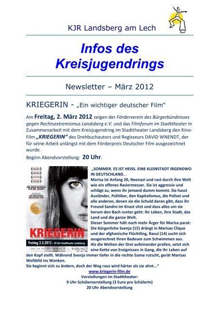 NewsletterKJR Landsberg - Nr. 83 Maerz 2012.pdf - Kreisjugendring ...