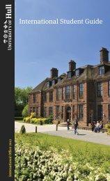 international student guide.pdf - University of Hull