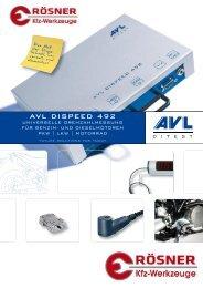 AVL DISPEED 492 - Rösner KFZ Werkzeuge