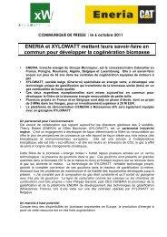 lire le communiqué de presse… - Edora