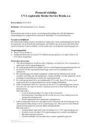 Protocol meetgroep 2011 - Annevillegroep
