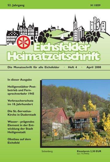 Original Eichsfelder Wurstspezialitäten - Mecke Druck und Verlag