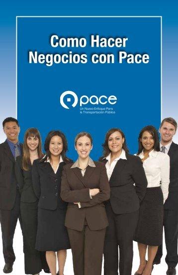 Como Hacer Negocios con Pace