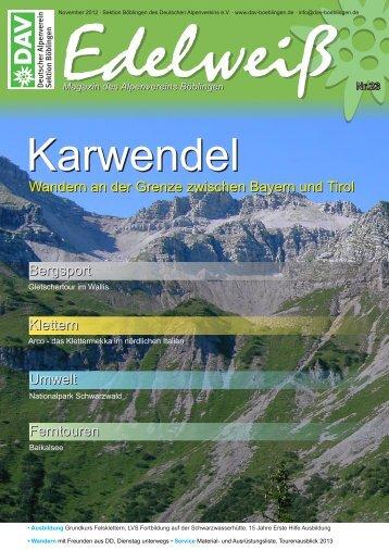 Karwendel - DAV Sektion Böblingen