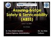 Assuring Bridge Safety & Serviceability (ABSS)