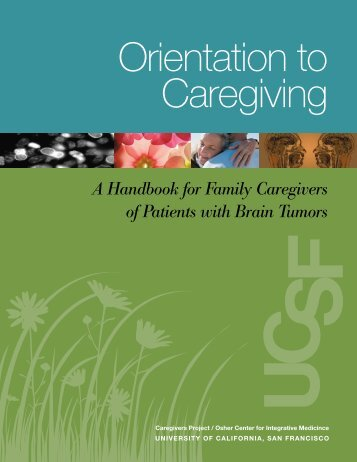 A Handbook for Family Caregivers of Patients with Brain Tumors