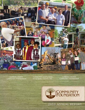 Dreams unity Needs - Community Foundation of Howard County