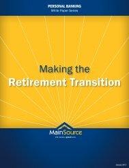 Retirement Transition - MainSource Bank