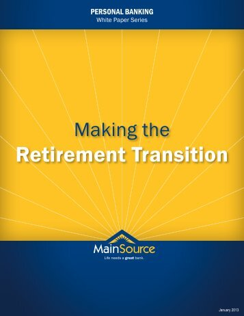 Retirement Transition - MainSource Bank
