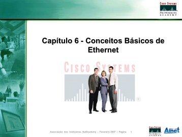 Campos de um Quadro Ethernet - LSI