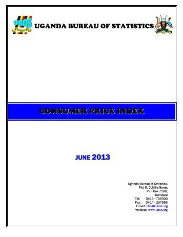 CPI June - Uganda Bureau of Statistics