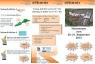 Flyer - Ramb GmbH
