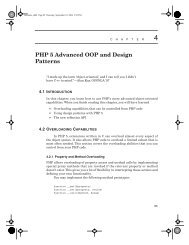 PHP 5 Advanced OOP and Design Patterns