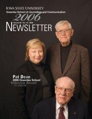 NEWSLETTER - Greenlee School of Journalism and Communication