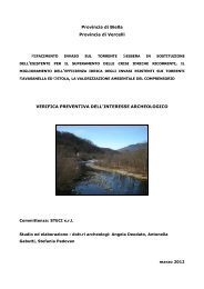 Verifica preventiva interesse archeologico - VIA - Regione Piemonte