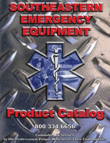 2004 CATALOG REVISED 2 - Southeastern Emergency Equipment