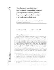 Transformación vegetal con genes de la biosíntesis de ... - IIB-INTECH