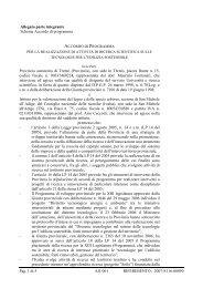 Schema accordo programma - UNIRICERCA - Provincia autonoma ...
