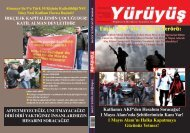 1 MAYIS ALANI'NDA ŞEHİTLERİMİZİN KANI VAR! - Yürüyüş