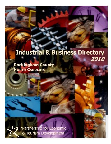 2010 Industrial Guide - Rockingham County, North Carolina