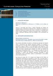 I. LEGISLAÇÃO NACIONAL 2011 Aprova a ... - Cuatrecasas