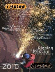 Yates Pro & Tactical Catalog 2010 - Rescue Response Gear