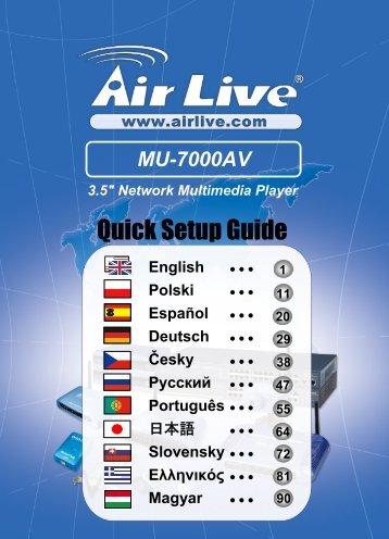 AirLive MU-7000AVs NDAS Drivers Download (2019)