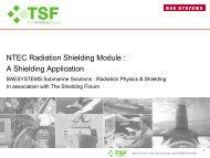 NTEC Radiation Shielding Module : A Shielding ... - Nuclear Physics