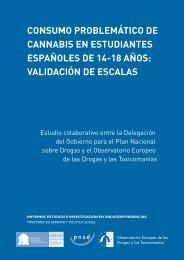 Consumo problemático de cannabis en estudiantes españoles de