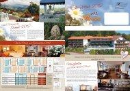 Bavaria Mailing - Ihr Urlaub 2012 - Hotel Bavaria in Zwiesel