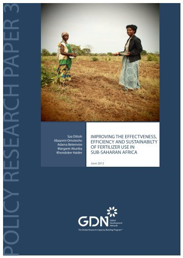 Policy Research Paper - Global Development Network