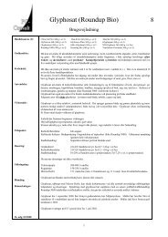 Glyphosat (Roundup Bio)