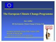 the European Climate Change Programme (ECCP)
