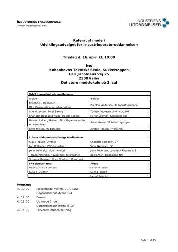 Referat af møde 16.4.2013 - Industriens Uddannelser