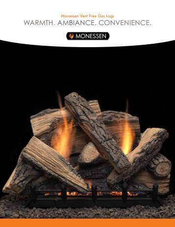 waRMTH. aMBIaNCE. CONvENIENCE. - Unvented Gas Log Heater ...