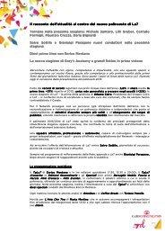 Comunicato stampa palinsesti La7 (.pdf)
