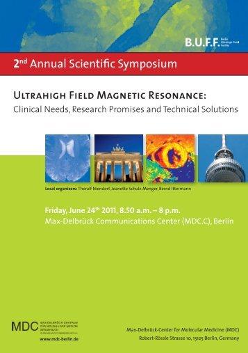 2nd Annual Scientific Symposium - MDC