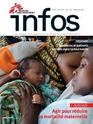 MSF Infos - Avril 2012 - Médecins Sans Frontières